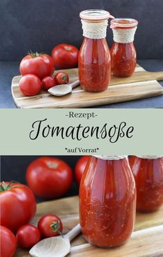 Tomatensoße einkochen - The inspiring life - - Tomatensoße einkochen – The inspiring life Kochrezepte Recipe: Boil Italian tomato sauce in stock Fresh and incredibly tasty for the whole year From fresh tomatoes Healthy Smoothies, Healthy Snacks, Healthy Recipes, Protein Snacks, Italian Cooking, Italian Recipes, Preserving Tomatoes, Italian Tomato Sauce, Diy Food