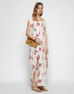 Maxikleid 'SAVING FLORALS' Florals, Jumpsuit, Dresses, Fashion, Sewing, Floral, Overalls, Vestidos, Moda