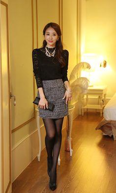 Moda coreana 25 modelos de blusas para chicas parte 2 - Modelos de faldas de moda ...