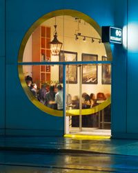 100 Dream Restaurants. Via F (www.foodandwine.com).