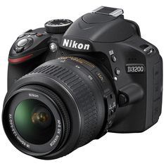Nikon Digital SLR Camera with Megapixels and VR Lens Included (Available in Black and Red) - Nikon - Trending Nikon for sales. - Nikon Digital SLR Camera with Megapixels and VR Lens Included Nikon D3000, Nikon Dslr, Dslr Cameras, Camera Lens, Canon 35mm, Canon Eos, Nikon Lenses, Camera Tripod, Leica Camera