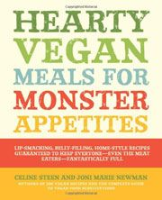 Hearty Vegan Meals for Monster Appetites cookbook giveaway from Leite's Culinaria (Ends 2/24/13)