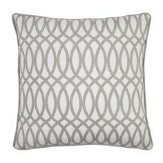 "2 Geo Pillows 22"" - Steel $119.90 #zgallerie"
