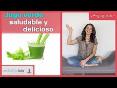 El jugo verde te aporta vitaminas y minerales, alimento perfecto para iniciar el día y darte energía al cuerpo. Nutrilite, Healthy Juices, Healthy Recipes, Food, Medicine, Tips, Healthy Living, Essen, Healthy Eating Recipes