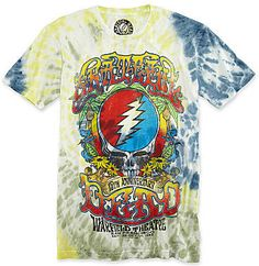 jcpenney Novelty T-Shirts Grateful Dead 15th Anniversary Tie-Dye Graphic Tee on shopstyle.com