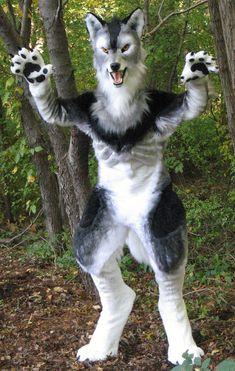 Werewolf Grrr by Monoyasha.deviantart.com on @deviantART