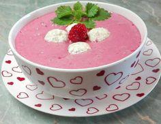 (13) Málnakrémleves, zabpelyhes túrógombóccal | Törzsök Éva receptje - Cookpad receptek
