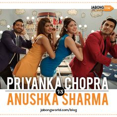 Two super-hot #Bollywood bombshells, Priyanka Chopra and Anushka Sharma are in neck to neck competition in Dil Dhadakne Do when it comes to their style and wardrobe for the movie.. Whom do you choose? Check out our blog and decide- http://www.jabongworld.com/blog/pick-your-fashionista-from-dil-dhadakne-do-priyanka-chopra-vs-anushka-sharma/?utm_source=ViralCurryOrganic&utm_medium=Pinterest&utm_campaign=Blog-06-june2015