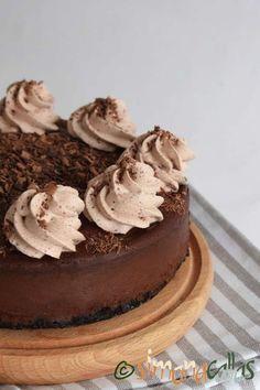Cheesecake de ciocolata Oreo, Cheesecake, Mango, Desserts, Food, Sweet, Sweets, Calla Lilies, Manga