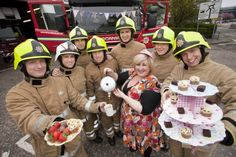 The Scottish Fire and Rescue Service and Michelle McManus get involved with The Big Lunch What Goes On, To Go, Lunch, Fire, Blog, Lunches, Blogging