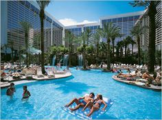 The Pool at the Flamingo. Read more about why it made Best of Vegas Top 10 pool list here