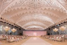 If you are looking trendy wedding events designers for wedding decor and bridal services in Lebanon, Beirut, Middle East, then you have come to the right place. Tent Decorations, Indian Wedding Decorations, Flower Decorations, Decor Wedding, Dubai Wedding, Ballroom Wedding, Ceiling Decor, Ceiling Design, Indian Wedding Stage