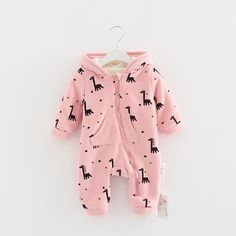 >> Click to Buy << High Quality Cute Giraffe Baby Rompers Spring And Winter Boy Clothes For Newborn Girls Jumpsuit Baby Clothes Newborn Kid Clothes #Affiliate
