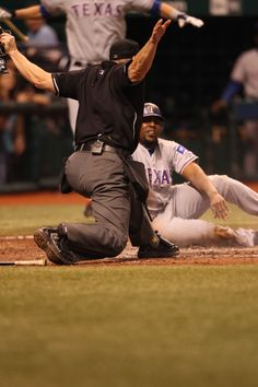 #RangersTBT tp Vladimir Guerrero's mad dash home in Game 5 of the 2010 ALDS vs. the Rays.