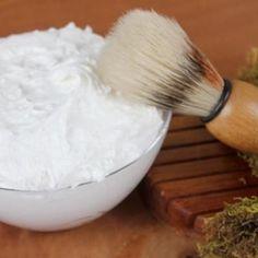 DIY Homemade Whipped Shaving Soap