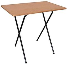 Shop for Harbour Housewares Folding Computer, Laptop Wooden Desk Black Frame/wood Effect Top. Starting from Choose from the 2 best options & compare live & historic home furniture and decor prices. Folding Computer Desk, Computer Laptop, Computer Desks, Table Pc, Home Office Desks, Office 365, Wooden Desk, Cozy Place, Brown Wood