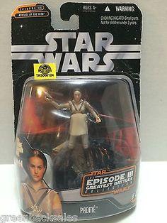 (TAS008124) - Hasbro Star Wars Episode 3 Greatest Battles Action Figure - Padme