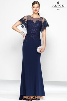 Evening Dresses Ball Dresses by BLACK LABEL for sleeve jersey dress, illusion sweetheart neckline with lace bodice and keyhole back. Mob Dresses, Pageant Dresses, Ball Dresses, Evening Dresses, Bride Dresses, Wedding Dresses, Hot Dress, Lace Dress, Lace Bodice