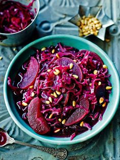 Tapas Revolution's Braised red cabbage with apples: http://uk.westfield.com/london/dining/recipes