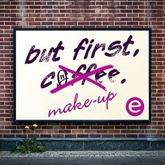 do you feel the same way? #essence #makeup# #coffee #true #beautyquote #quote
