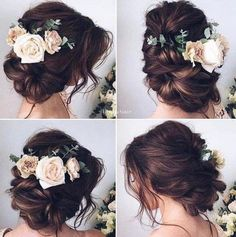 Ulyana Aster Wedding Hairstyle Inspiration
