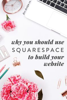 Why You Should Build Your Website on Squarespace | Squarespace Website Design Tips - Whether you're looking to build a new website, or you already have one and are looking to improve it, there are a few key reasons we recommend Squarespace sites for most personal and small business needs | DIY Website Design | Online Business Tips | Squarespace Web Design | Five Design Co. #websitetips #webdesign #squarespace