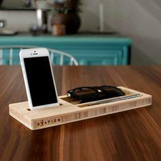 Fab.com | Wood Docks & Organization Tools