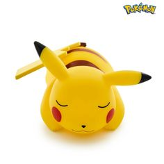 Sleeping Pikachu Light up figurine Pikachu, Pokemon, Night Light, Light Up, Ranger, Led Lamp, Bandai Namco Entertainment, Character Names, Lamp Light
