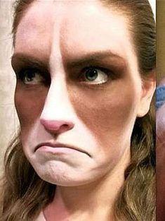 grumpy cat makeup