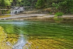15. One of the many scenic sights you'll experience at our Havana Glen Park in Montour Falls, New York.