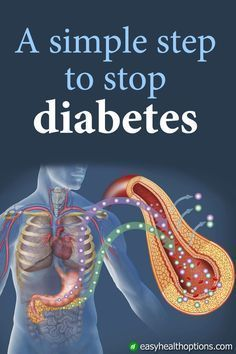 A simple step to stop diabetes