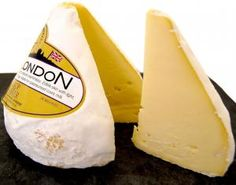 Lord London: unique bell shaped cows' cheese is a semi-soft, clean citrus tasting cheese with a natural creaminess. It has an edible skin with a light dusting. Perfect with a glass of Prosecco, eat this one straight from the fridge. Stall in Borough Market: http://www.alsopandwalker.co.uk/products
