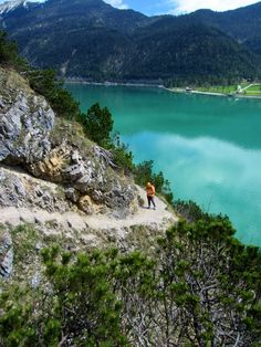 Trail running in #Austria at Lake #Achensee. More: http://trampelpfad.net