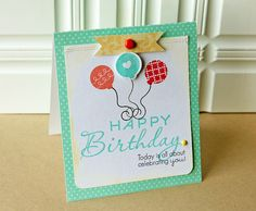 Card by Danielle Flanders for Papertrey Ink (March 2012)