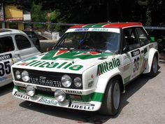Fiat 131 Abarth rally car