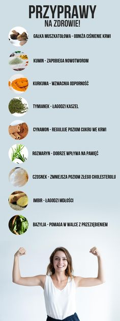 Te przyprawy dobrze wpływają na Twoje zdrowie. Zobacz jakie dają korzyści! Healthy Style, Healthy Life, Healthy Eating, Herbal Remedies, Natural Remedies, Health Trends, Food Hacks, Love Food, Gastronomia