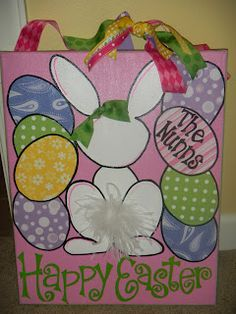Easter Canvas