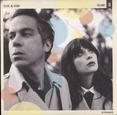 She & Him Volume 3 2013 UK CD album DS075CDP: SHE & HIM Volume 3 (Official 2013 UK Double Six label 14-track promotional CD for the fourth…