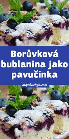 Czech Recipes, Yummy Treats, Sweet Recipes, Food And Drink, Pudding, Sweets, Bread, Homemade, Baking