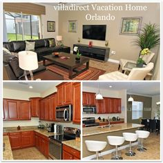 Villa Direct Vacation Homes in Orlando ~ Gorgeous Home Away From Home! #RockYourVacation - Virtually Yours