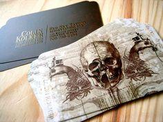 30 Cartões de Visitas criativos | Criatives | Blog Design, Inspirações, Tutoriais, Web Design