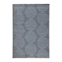 LILLERÖD Teppich Langflor, grau - IKEA
