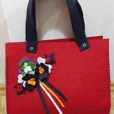 Keçe çanta modelleri 4