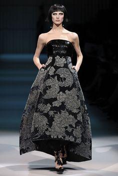 Armani Privé Spring 2009 Couture Fashion Show - Olga Sherer (NATHALIE)