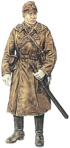 Kapitan 63. Dywizji Piechoty armii japońskiej, Mandżuria 1944