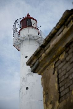 Saxby lighthouse, Vormsi island, Estonia