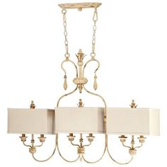 Maison French Country Antique White 6 Light Island Chandelier by Kathy Kuo Designs, http://www.amazon.com/dp/B005UDQM6S/ref=cm_sw_r_pi_dp_4m0Erb1AP0D3S
