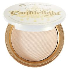 Too Faced Absolutely Invisible Candlelight Powder in Sheer Gold - sheer luminous soft gold #sephora