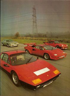 512BB - Countach - 930 Turbo & V8 Vantage LeMans
