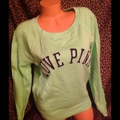 Victoria Secret Sweatshirt M! Victoria Secret sweatshirt size medium like new condition!! PINK Victoria's Secret Tops Sweatshirts & Hoodies